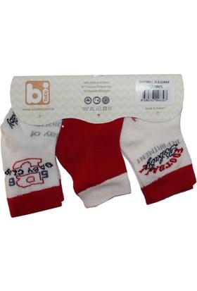 Bibaby 68075 Futbol 3 lü Çorap