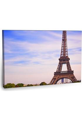 Fotografyabaskı Eyfel Kulesi Tablo Paris 75 Cm X 50 Cm Kanvas Tablo Baskı