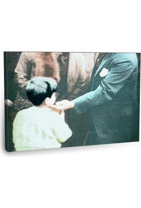 Fotografyabaskı Mustafa Kemal Atatürk Tablo 17 75 Cm X 50 Cm Kanvas Tablo Baskı
