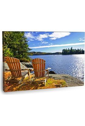Fotografyabaskı Ontario Tablosu 75 Cm X 50 Cm Kanvas Tablo Baskı