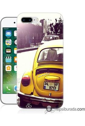Teknomeg iPhone 7 Plus Kılıf Kapak Volkswagen Baskılı Silikon