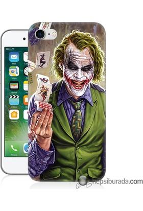 Teknomeg iPhone 7 Kılıf Kapak Kartlı Joker Baskılı Silikon