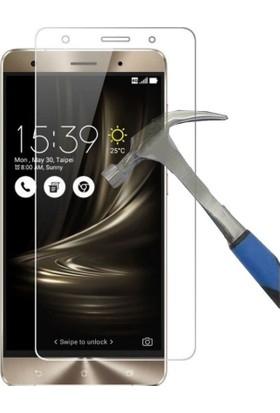 Teleplus Asus Zenfone 3 Deluxe Zs570Kl Plastik Ve Cam Ekran Koruyucu Karışımı Cam Ekran Koruyucu