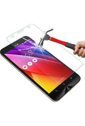 Teleplus Asus Zenfone Max Plastik Ve Cam Ekran Koruyucu Karışımı Cam Ekran Koruyucu