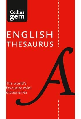 Collins Gem English Thesaurus (8Th Edition)