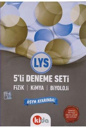 Kida Yayınları Lys 5 Li Deneme Seti Fizik Kimya Biyoloji