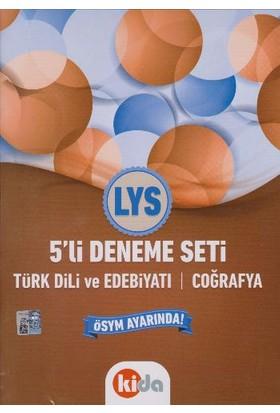 Kida Yayınları Lys 5 Li Deneme Seti Türk Dili Ve Edebiyatı Coğrafya