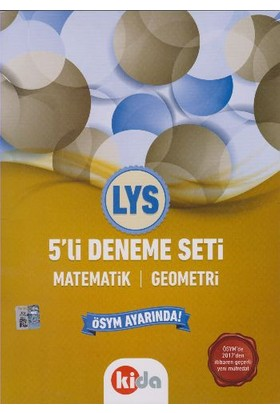 Kida Yayınları Lys 5 Li Deneme Seti Matematik Geometri