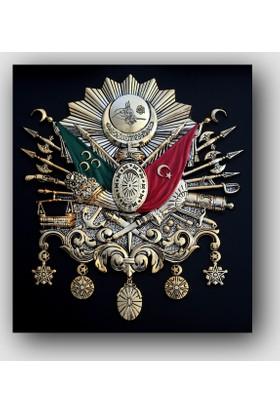 Artredgallery Osmanlı Arması Tablo