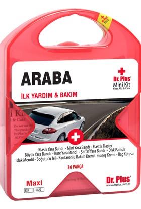 Dr Plus İlk Yardım Çantası Seti Araba MiniKit