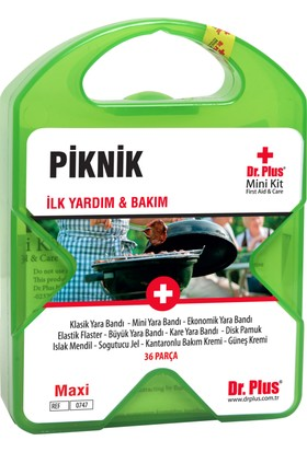 Dr Plus İlk Yardım Çantası Piknik MiniKit