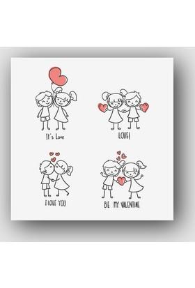 Artredgallery Aşk Tablo