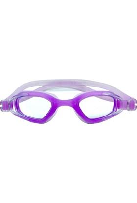 Delta GS3 Özel Dizayn Yetişkin Deluxe Yüzücü Gözlüğü Lila