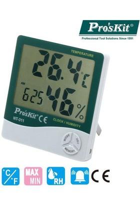 Proskıt Dıgıtal Sıcaklık Nem Ölçer Nt-311