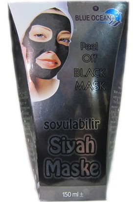 Blue Ocean Siyah Maske 150Ml