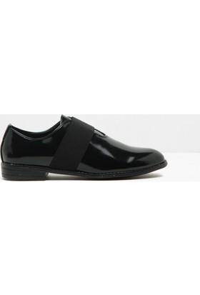 Koton Kadın Bağcıksız Loafer Ayakkabı Siyah
