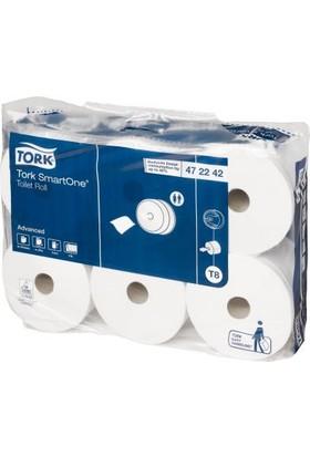 Tork Smartone İçten Çekmeli Tuvalet Kağıdı 207Mx6 Rulo (472242)