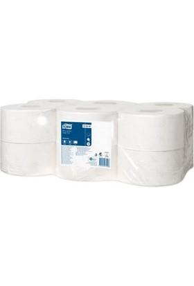Tork Mini Jumbo Tuvalet Kağıdı Advanced 170Mx12 Rulo (120280)
