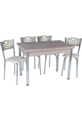 Aras Kordoba Açılır Eko Masa Takımı (6 Sandalye)