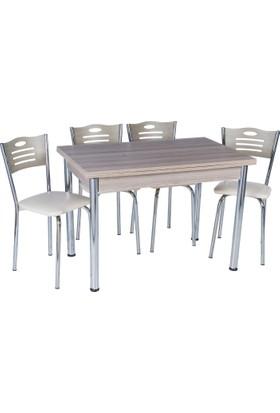 Aras Kordoba Açılır Eko Masa Takımı (4 Sandalye)