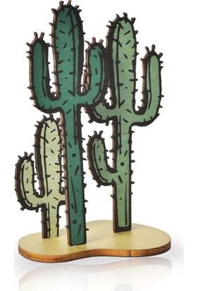 Purupa Kaktüs Dekoratif Obje Hediyelik