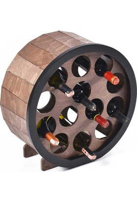 Purupa 13'Lü Yuvarlak Şarap Standı