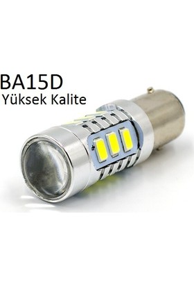 Tsc Ba15D P21/5W Led Çift Düy Led Stop ve Park Lambası