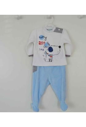 Premom 1040A Fular Kpekcik Kadife Erkek Bebek Takım