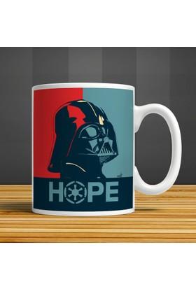 İf Dizayn Darth Vader Nope Baskılı Kupa Bardak