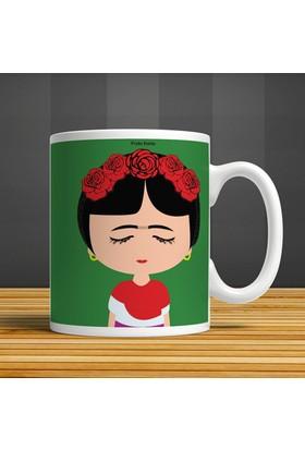 İf Dizayn Frida Kahlo Baskılı Kupa Bardak