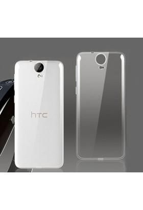 Dts Htc One E9 0.2Mm Ultra İnce Silikon Kılıf-Şeffaf