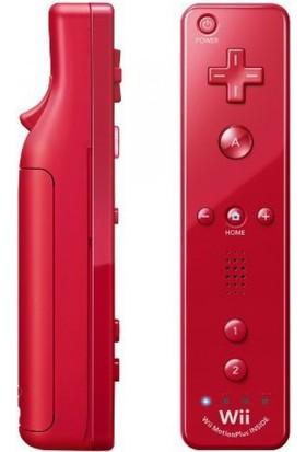 Wii Nintendo Remote Kontrol Plus Oyun Kolu-Kırmızı