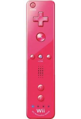 Wii Nintendo Remote Kontrol Plus Oyun Kolu-Pembe