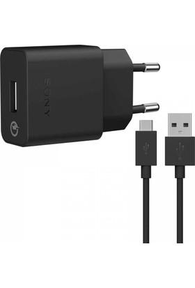 Sony UCH10 2.0A Hızlı Şarj Cihazı + Micro Usb Kablo - Siyah (İthalatçı Garantili)