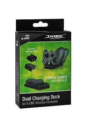 Dobe Xbox One Dual Dock Joystick Batarya Ve Şarj İstasyonu Seti