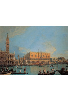 Clementoni 1000 Parça Venedik Ducal Palace Puzzle (Canaletto)