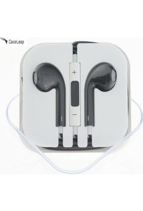 Case Leap Apple iPhone 5/6/6Plus/iPad/iPod Mikrofonlu Kulaklık Siyah