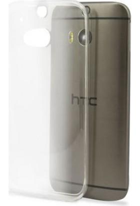 Blueway Htc One M8 Ekran + Şeffaf Silikon Kılıf