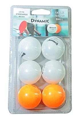 Dynamic B23021121 6'lı Pinpon Topu