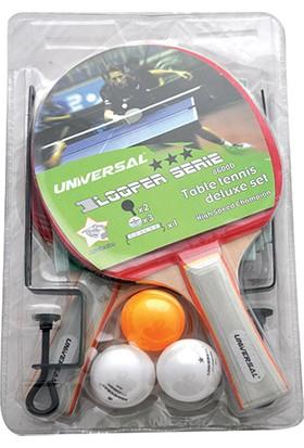 Universal 8600D 2 Raket 3 Top Ağ Set