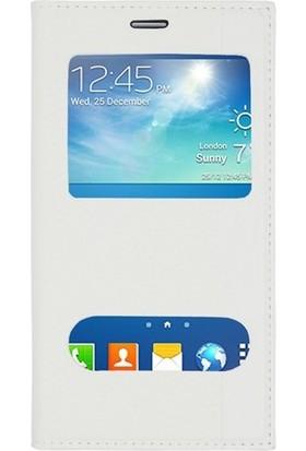 Logi Samsung Galaxy A7 Kapaklı Pencereli Kılıf