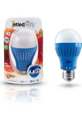 Jetled Firefly Mavi Gece Lambası 1 Watt E27