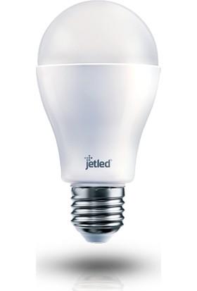 Jetled Yüksek Verimli Led Ampul 8W 810 Lümen E27 Sarı Işık