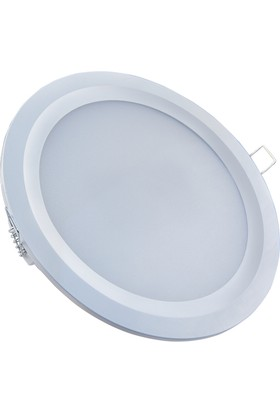 "Jetled 20 Watt Led Panel Downlight 6"" Sarı Işık 3000°K"