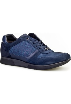 Cabani Bağcıklı Günlük Erkek Ayakkabı Lacivert