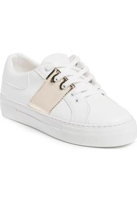 Ayakkabı - Beyaz Altın - Zenneshoes