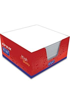 Kraf 116G Küp Blok Beyaz 9X9 Cm