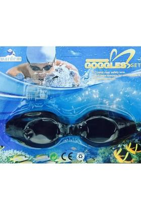 Goggles Deniz Gözlüğü Siyah