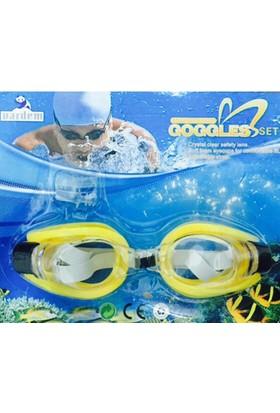 Goggles Deniz Gözlüğü Sarı