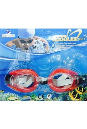 Goggles Deniz Gözlüğü Kırmızı